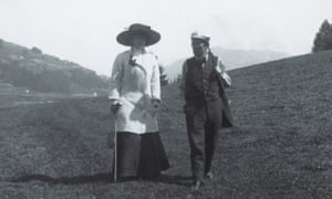 More than a muse: Alma and Gustav Mahler walking near their summer residence in Toblach in 1909