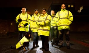 The Shirley Street Watch group, credited with forcing drug dealers away.