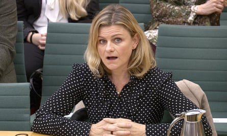 Zelda Perkins, former personal assistant to Harvey Weinsten, speaking to parliament's women and equalities committee earlier this year.