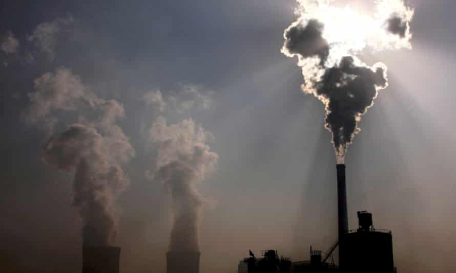"""A coal-burning power plant. """"New investment in the coal industry will leave investors, including taxpayers, with vast stranded assets"""""""