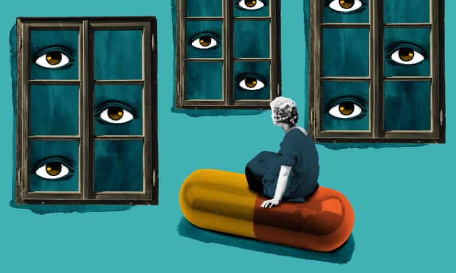 Abortion access illustration