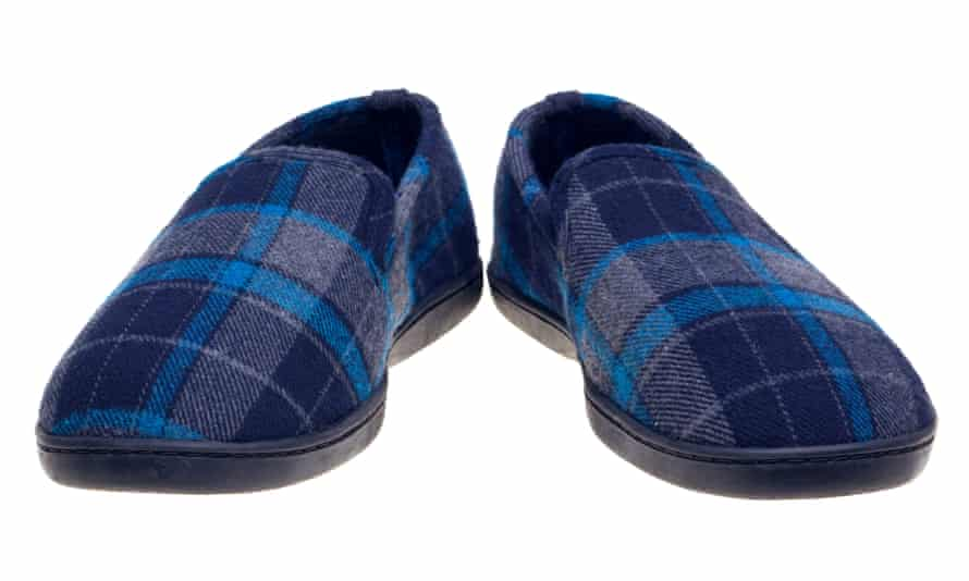 Sales of men's slippers rose 53% in the second quarter