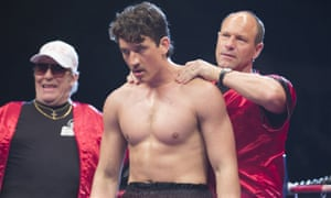 Eckhart, right, in Bleed for This.