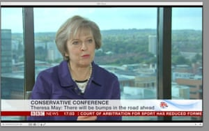 Theresa May's BBC interview