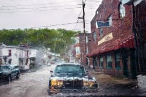 """Rain Drop"", Mahanoy City, Penn., 2016"