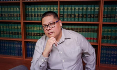 Julian Aguon, founder of Blue Ocean Law, a human rights law firm based in Guam