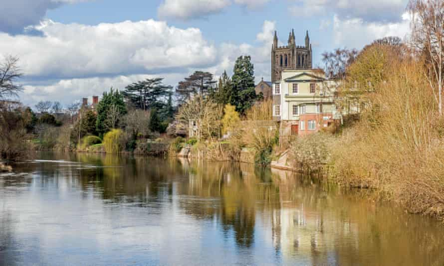 The River Wye at Hereford