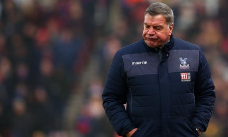 Sam Allardyce frustrated by response of players to Crystal Palace relegation fight