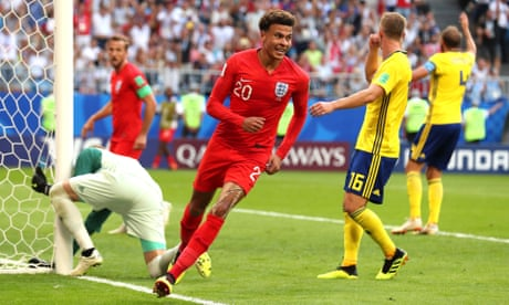 0a2a91b28d7 England beat Sweden to reach first World Cup semi-final in 28 years
