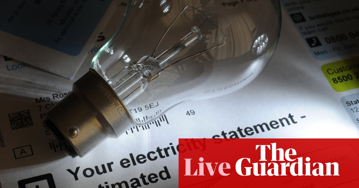 UK inflation more than doubles to 1.5% in April as energy prices rise – business live