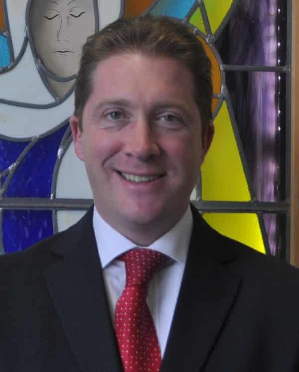 Head of Richard Challoner secondary school, Sean Maher.