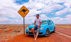 Wiebe Wakker has driven from Darwin down to Perth, across the Nullarbor to Newcastle, up to Queensland, and back down to Adelaide