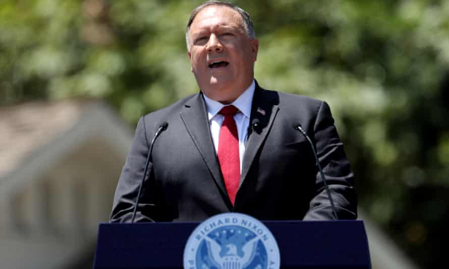 Mike Pompeo, the US secretary of state