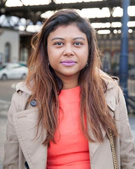 Elaine Thambiah, commutes from Brighton to London Bridge