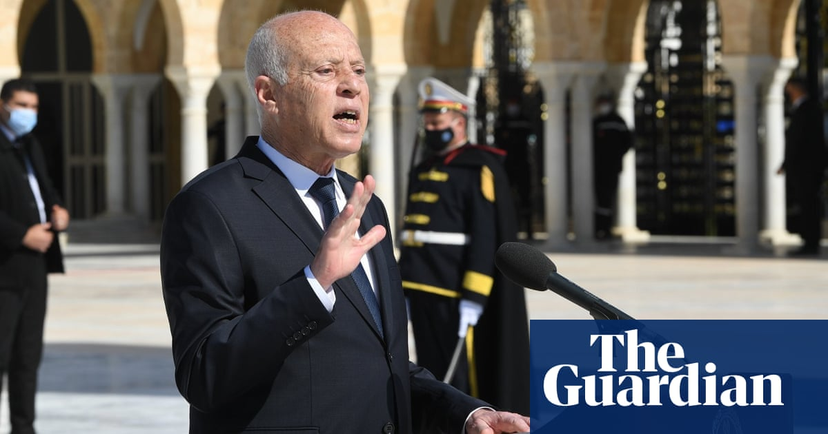 Kais Saied: the 'RoboCop' president accused of launching Tunisia coup