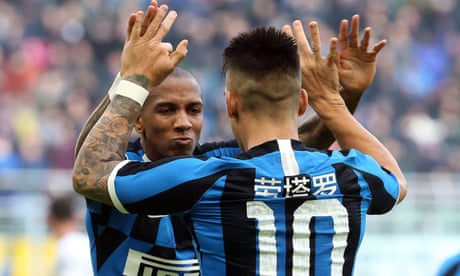 Ashley Young makes rapid Inter impact as Serie A title race heats up