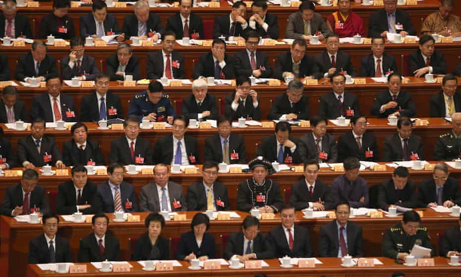 The Chinese People Political Consultative Conference in Beijing in March.