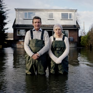 Drowning World explores the phenomenon of flooding globally, with Gideon Mendel documenting 13 countries and the people living with rising water levels