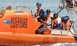 Sri Lankan refugees transferred from Australian customs vessel Oceanic Viking. 'The US embassy in Canberra wrote Rudd's 'megaphone diplomacy' had placed President Yudhoyono in a difficult position.'