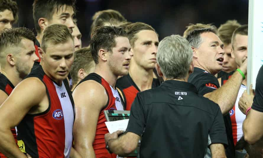 St Kilda, wooden spoon winners last year, are on the up.