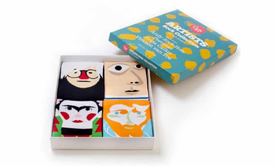 Unisex sock gift set from chattyfeet.com