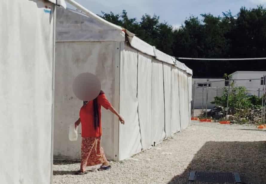 The detention centre on Nauru