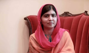 Malala Yousafzai … 'I was welcomed as a student.'