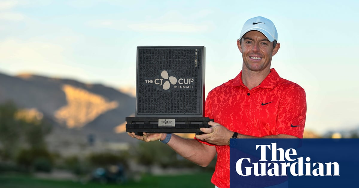 'Being me is enough' – Rory McIlroy revels in turnaround to win CJ Cup