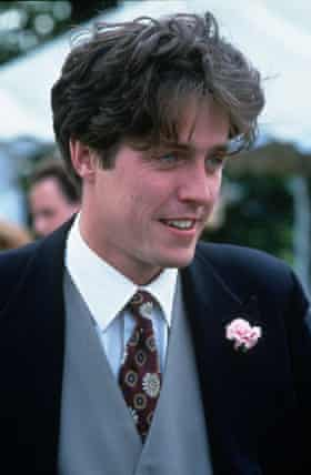 Grant in Four Weddings and a Funeral