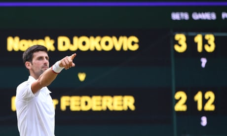 Novak Djokovic's epic final reveals flaws in a two-set stroll meriting an equal purse   Andrew Anthony
