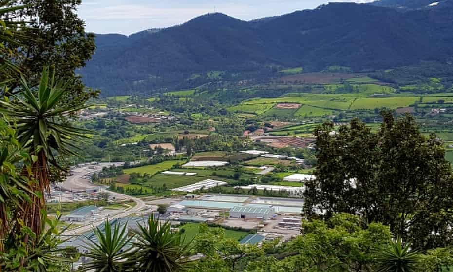 The Escobal mine in San Rafael las Flores