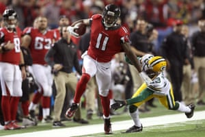 Julio Jones was close to unstoppable against the Packers