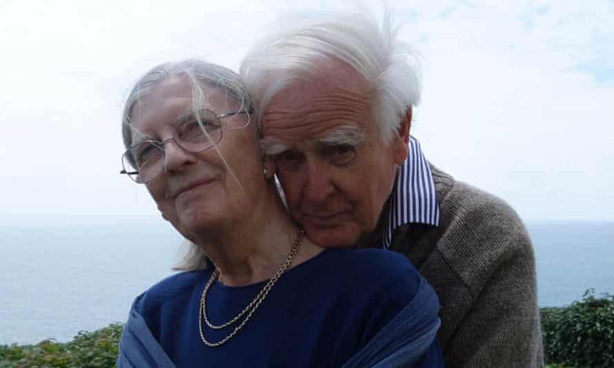 Jane Cornwell and David Cornwell, who wrote under the name John le Carré.