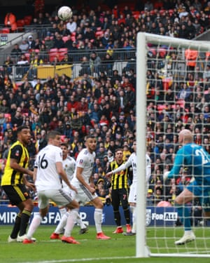 Gerard Deulofeu's sublime dinked effort began Watford's late FA Cup semi-final comeback against Wolves.
