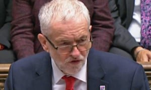 Jeremy Corbyn mocked government ministers at PMQs.