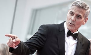 George Clooney is returning to TV two decades after starring in medical drama ER.