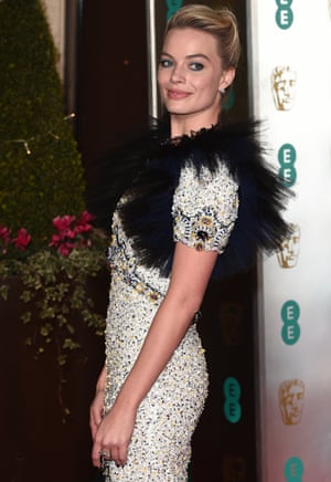 Margot Robbie attends Academy Film Awards Gala Dinner at Grosvenor House