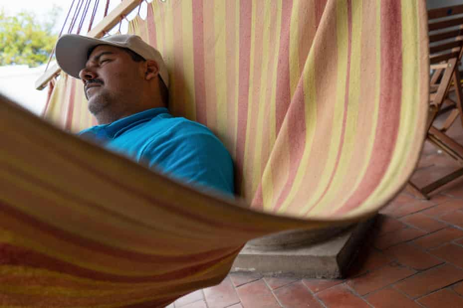 Nemesio Mejía, 43, is one of the leaders of Nicaragua's largest farmer movement.