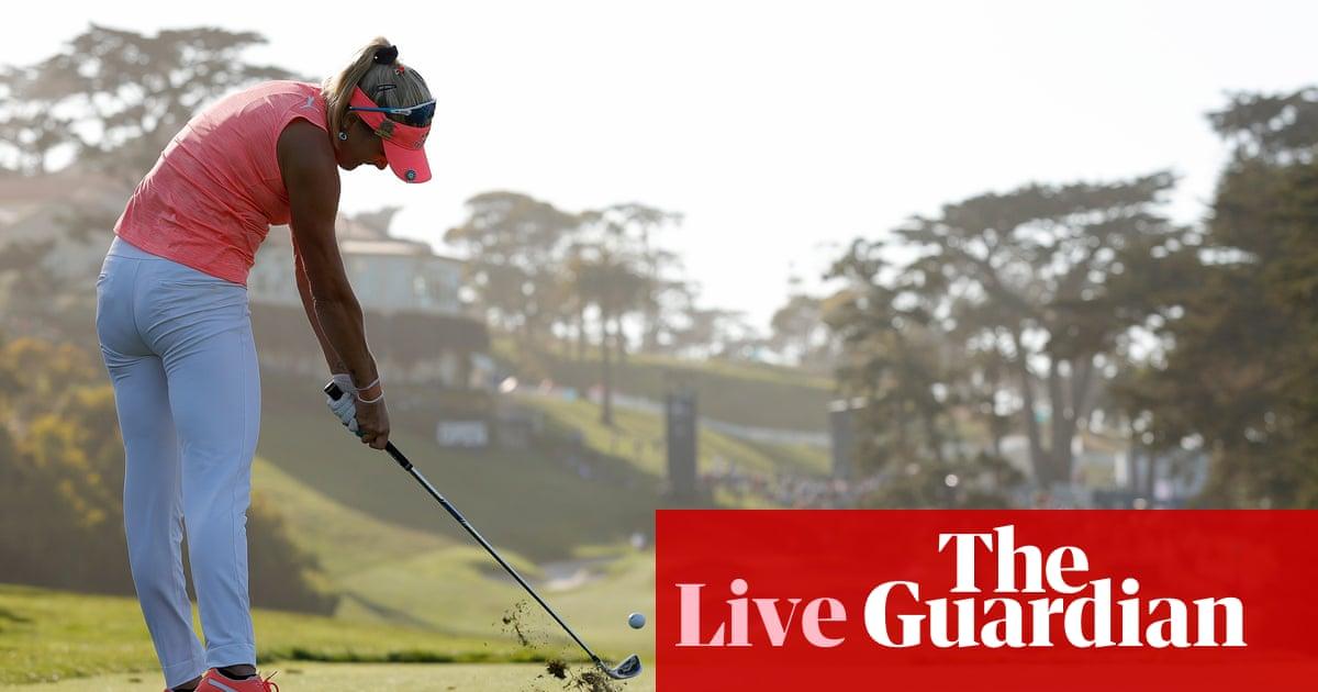 US Women's Open golf: final round – live!