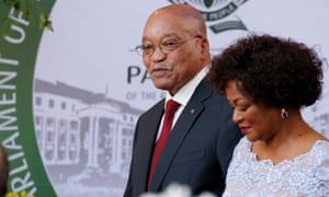 The mood in the national assembly was dour and muted after a bruising few months for the ANC.
