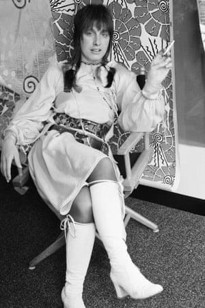 Zandra Rhodes in 1970.