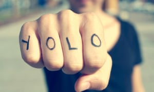 Yolo (an acronym for 'you only live once') has made the OED list.