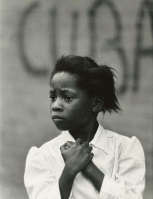 Girl and Cuba, Philadelphia, 1968
