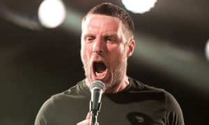 Jason Williamson of Sleaford Mods.