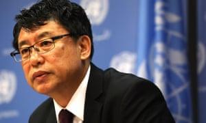 North Korea deputy United Nations ambassador Kim In-ryong