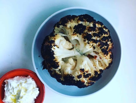 Alon Shaya's roasted cauliflower