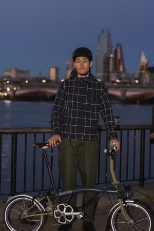 """Riding high Oliver Spencer has teamed up again with Brompton Bicycles on a water-repellent and reflective versatile commuter jacket. """"I wanted to create something for a creative type who enjoys a more relaxed dress code during the week but would happily wear the jacket with his weekend fits,"""" Spencer said. Made in the UK,  the jacket features a useful rear pocket on the lower back for gloves, a phone or pair of sunglasses. £389, oliverspencer.co.uk"""