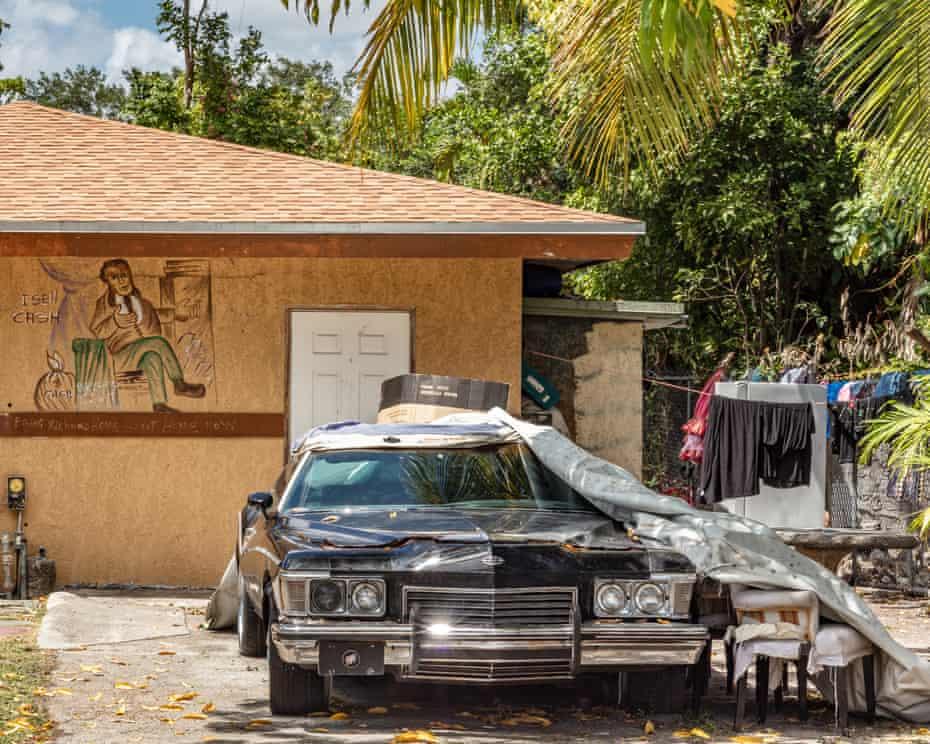 Front yard in Little Haiti
