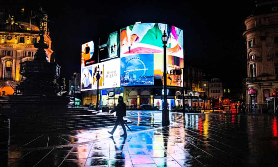 Land Securities owns several central London assets including Piccadilly Lights, above, and the property behind it.