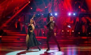 Joe Sugg, aka ThatcherJoe, with his dance partner Dianne Buswell on last year's Strictly Come Dancing.
